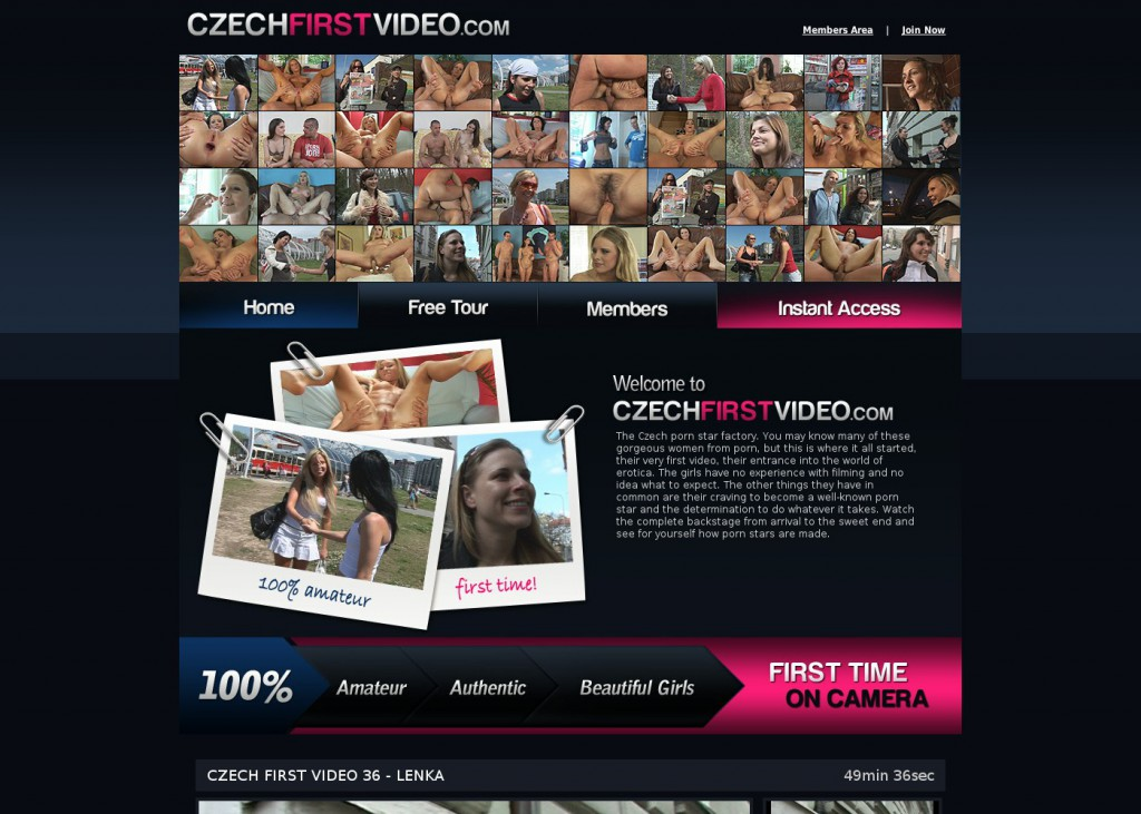 czech first video