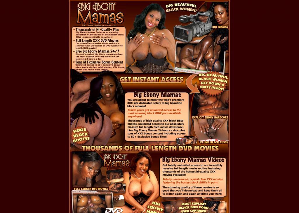 big ebony mamas