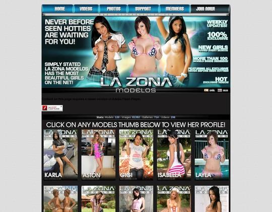 lazonamodelos.com