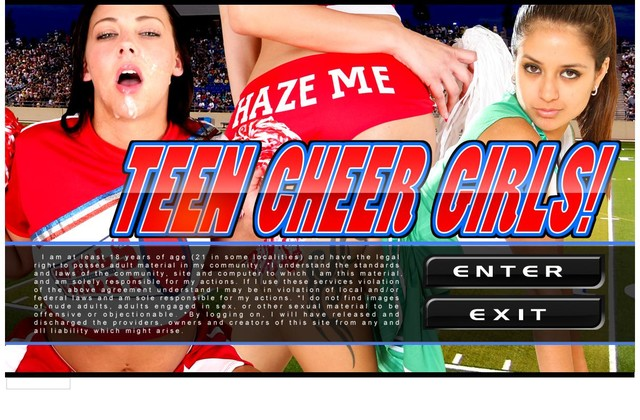 Teen Cheer Girls