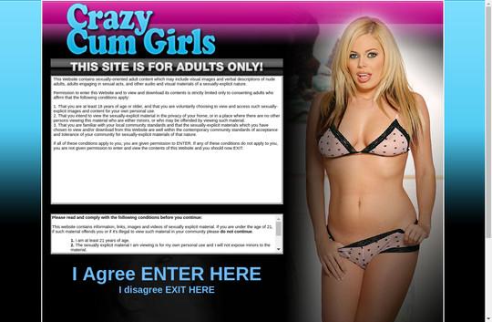Crazy Cum Girls
