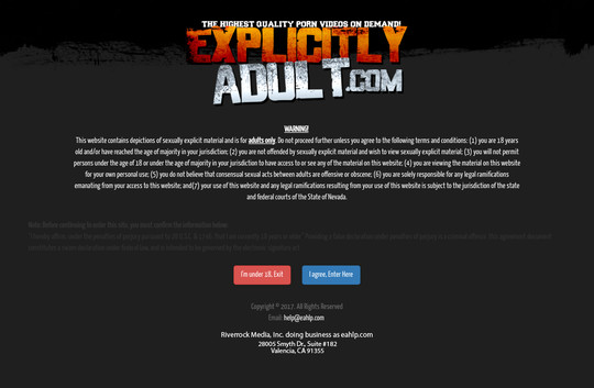 Explicitly Adult