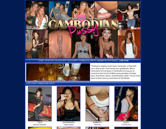 I Love Cambodian Pussy