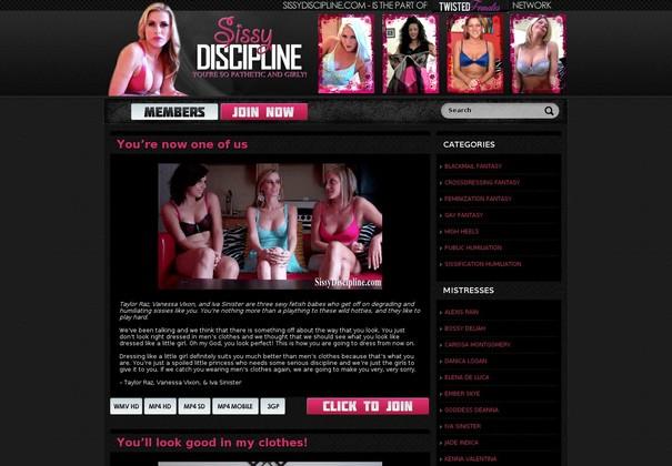 Sissy Discipline