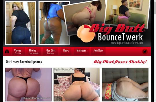 Big Butt Bounce Twerk