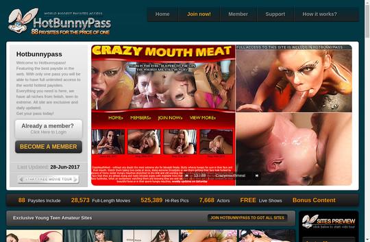 Hot Bunny Pass