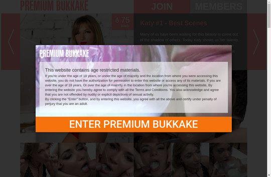 Premium Bukkake