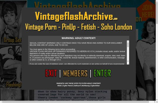 Vintage Flash Archive