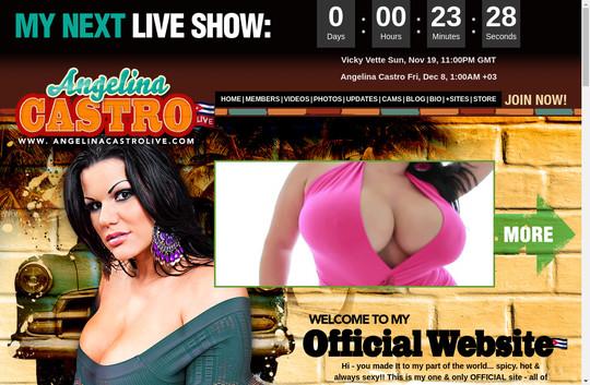 Angelina Castro Live