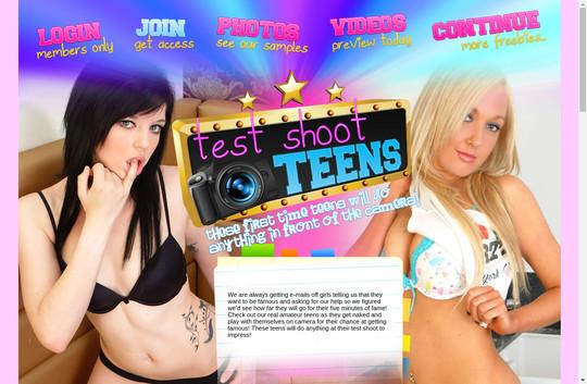 Test Shoot Teens