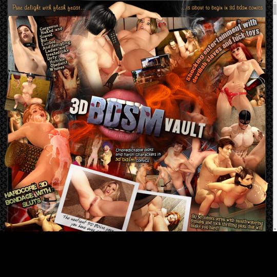 3 D BDSM Vault