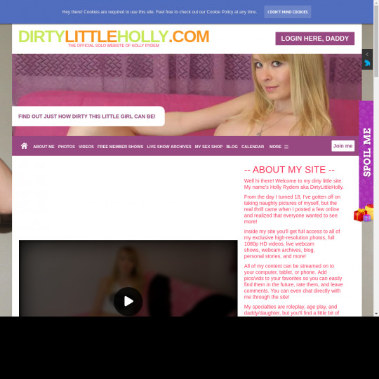 dirtylittleholly.com