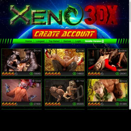 xeno3dx.com