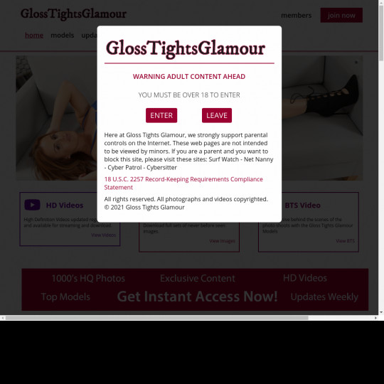 glosstightsglamour.com