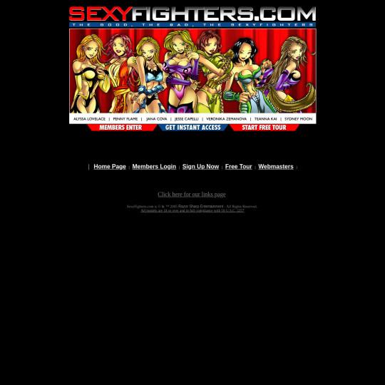 sexyfighters.com