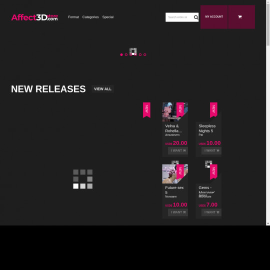 affect3dstore.com