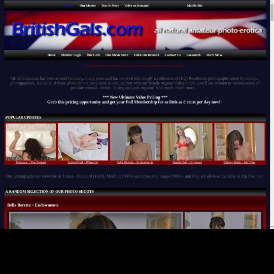britishgals.com