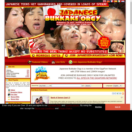 japanesebukkakeorgy.com